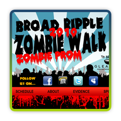Broad Ripple Zombie Walk